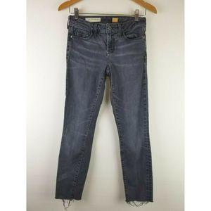 Pilcro Anthropologie Women Skinny Jeans 26 Black